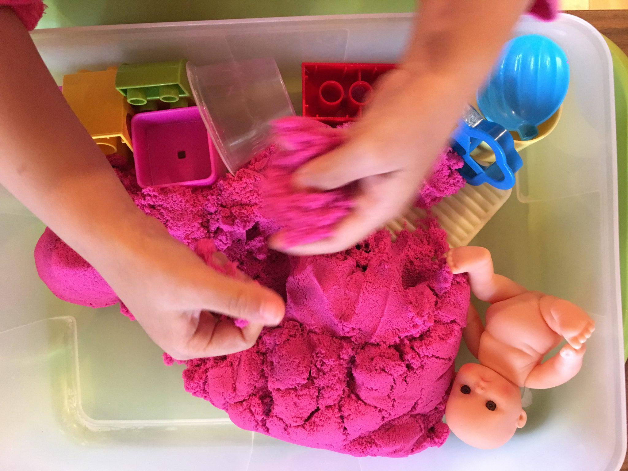 Kids Play Sand (Pink)